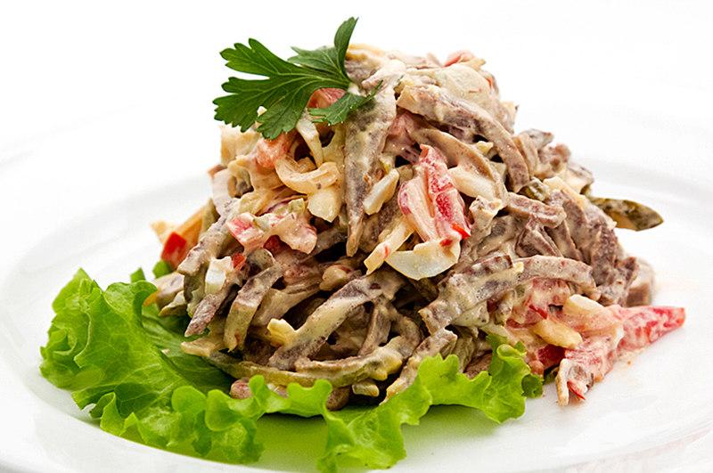 Салат из языка говяжьего рецепт самый