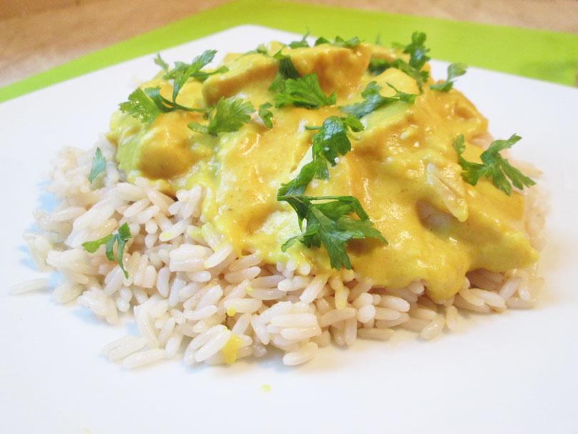 Рис с подливом из курицы рецепт