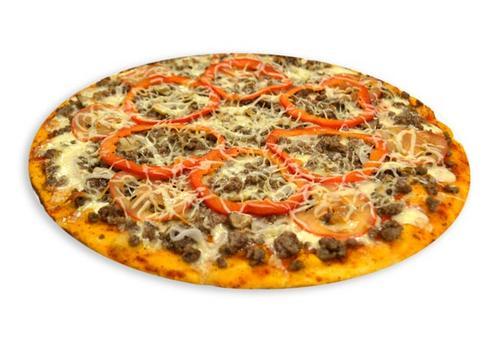 Пицца с грибами и помидорами и фаршем рецепт пошагово в духовке
