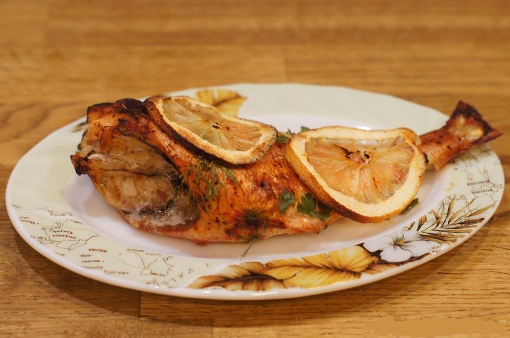 Утка с яблоками маринованными в духовке рецепт с фото